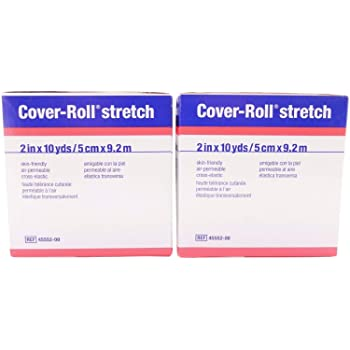 "Smith and Nephew/BSN Cover-Roll Stretch - 2"" x 10 Yards - Hypoallergenic Pack of 2 (SG_B01F9JFBBY_US)"