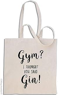 Gym? I Thought You Said Gin! - shopping bag di cotone