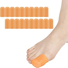 Madholly 20 Pieces Gel Toe Cap, Silicone Toe Protector, Toe Cover for Big Toes, Protect..