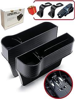 PLANTURECO Car Seat Gap Filler 2 Pack, SideSeatSpaceOrganizer, CarSeatOrganizer with Car Cup Holder, SideSeatSpace...