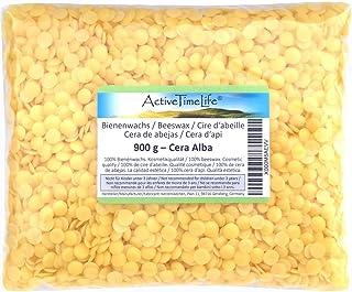 Bienenwachs Pastillen Bio, gelb, 900 g, für Kosmetik Kerzen Cremes Salben Seifen