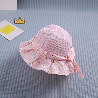 Female Baby Sun Hat Summer Mesh Breathless Fresh Baby Thin Girl Basin Hat Summer Sun Hat