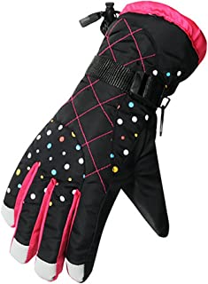 YF-36 Womens Winter Warm Sports Windproof Waterproof Ski Gloves
