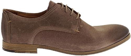 Coxx Borba Suede Suede chaussures l'homme Taupe Cordon  les promotions