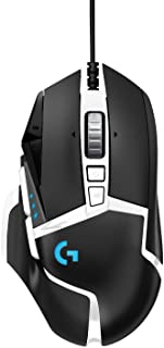 Logitech G502 Hero High Performance Gaming Mouse Special Edition, Hero 16K Sensor, 16 000 DPI, RGB, Adjustable Weights, 11...