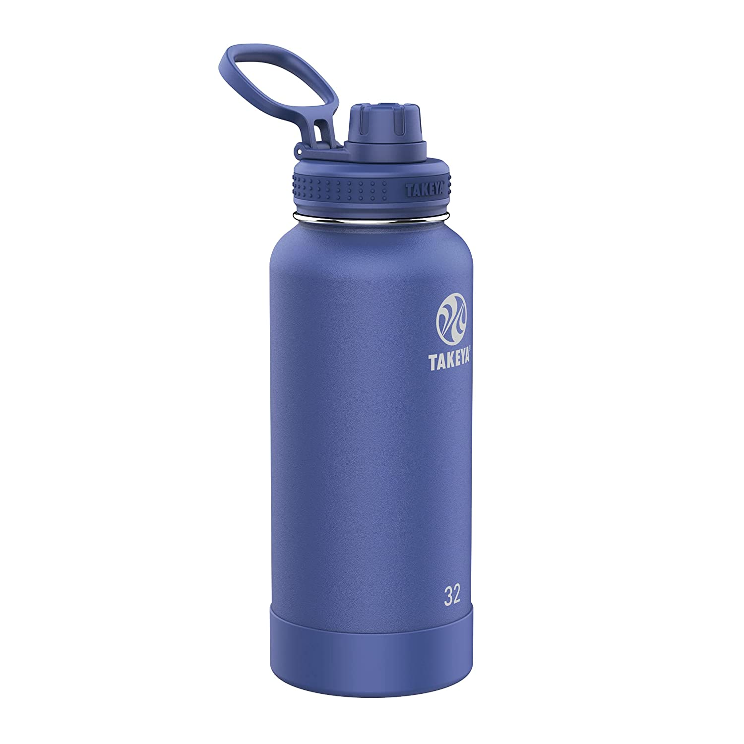 Takeya Pickleball Time sale Insulated Water Bottle with 3 Lid Large discharge sale Spout Sport