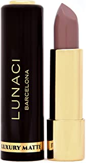 Lunaci Barcelona Pintalabios Mate tonos vibrantes textura ligera hipoalergénico ULTRA MATE VEGANO (NUDE MV-05)