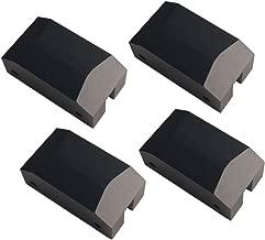 Dewhel Jack Pad Adapter Billet Anodized Black Aluminum Floor Jack For 5th Gen Camaro 10-15 Lexus GSF Ford Focus