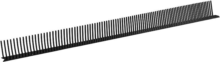 85 mm x 1,0 m Anthrazit Haus /& Dach Traufenl/üftungskamm PVC L/üftungskamm Vogelschutz 10 St/ück Traufkamm