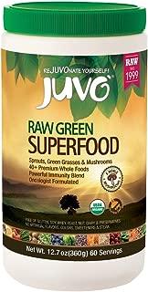 Juvo Raw Green Superfood, 12.7 Ounce, 60 servings, Vegan, Gluten Free, Non-GMO, Kosher