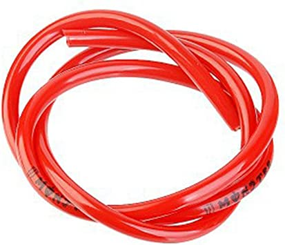 Tubo del tubo del gas tubo del gasolio colorato 1M Tubo del carburante Tubo del tubo della benzina Per moto ATV Pit Bike Pit Giallo