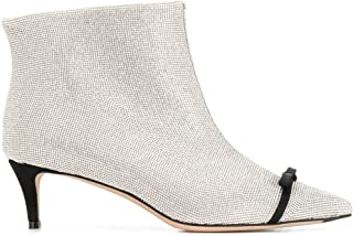 MARCO DE VINCENZO Luxury Fashion Womens MXV107A02UF102F Silver Ankle Boots | Fall Winter 19