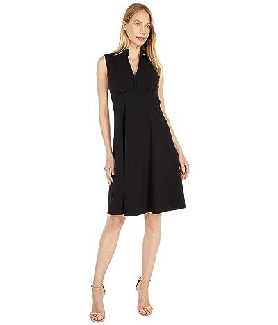 Calvin Klein Collar Neck A-Line Dress