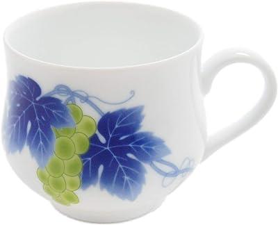 香蘭社 マグカップ ぶどう ホワイト 300ml 568-HMB1 個