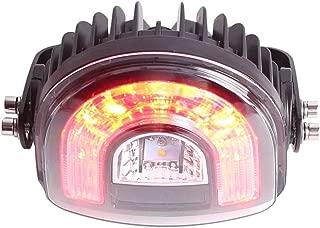 LY8 18W LED Forklift Halo Lights Red And Yellow Arc Forklift Safety Light Truck Warehouse Danger Area Lamp 10V-80V