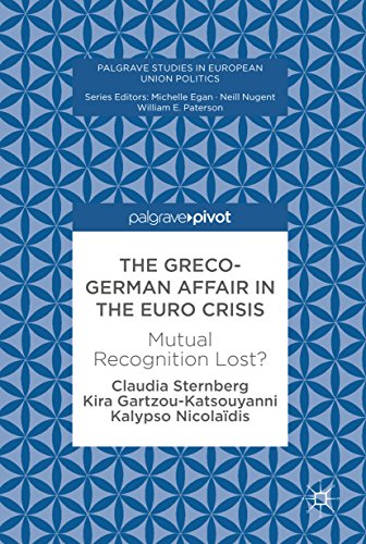 The Greco-German Affair in the Euro Crisis: Mutual Recognition Lost? (Palgrave Studies in European Union Politics) (English Edition)