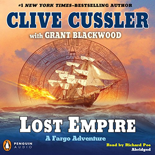Lost Empire Audiobook By Clive Cussler,                                                                                        Grant Blackwood cover art