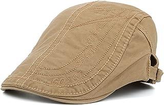 66c4d44c6dd Cotton Flat Cap Newsboy Hat Men Boys Duckbill IVY Cap Gatsby Driving Cabbie  Cap