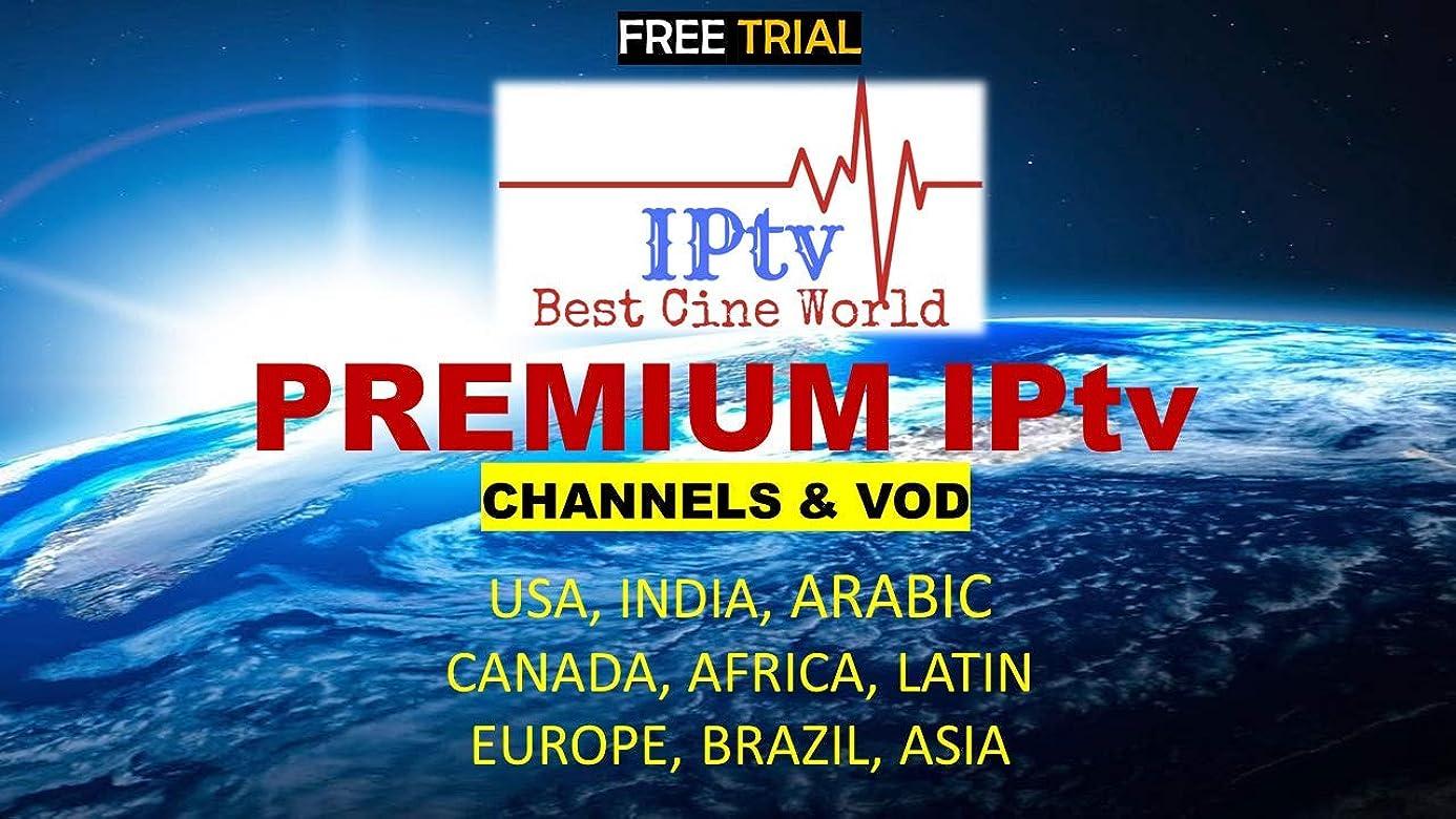 1 Year 12 Months Worldwide IPTV Subscription [USA, Canada,UK, Europe, Arabic.]