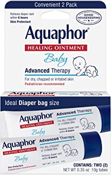2 Count Aquaphor Baby Healing Ointment Advanced Therapy 0.35 oz