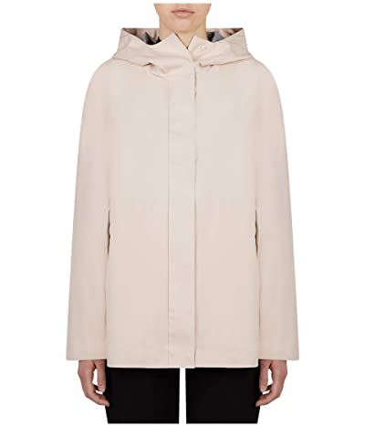 Save the Duck Bark Hooded Jacket (Powder Pink) Women