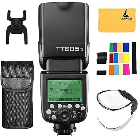 Godox Tt685c Ttl Hss 1 8000s Gn60 2 4g Wireless Kamera