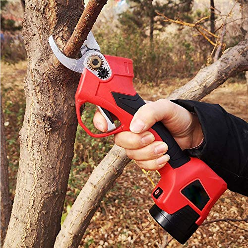 Sale!! Gardening Pruning Shears,Professional Cordless Electric Pruning Shears Battery Powered Branch...
