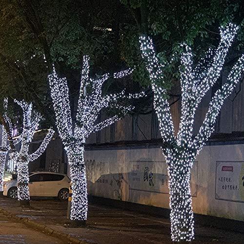 YUNDING Malla De Luces Luces De Hadas Decoración Luz De Red LED para Exteriores Jardín Decorativo Impermeable 220 V 110 V Boda Fiesta(Color:6mX4m)