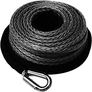 synthetic winch rope extension