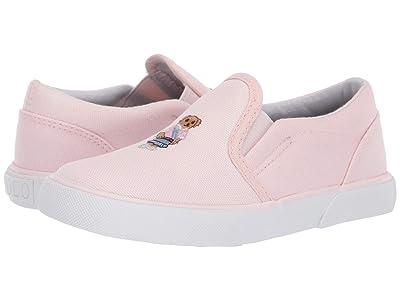 Polo Ralph Lauren Kids Bal Harbour II Bear (Toddler) (Light Pink Canvas/Sweater Vest Bear) Girl
