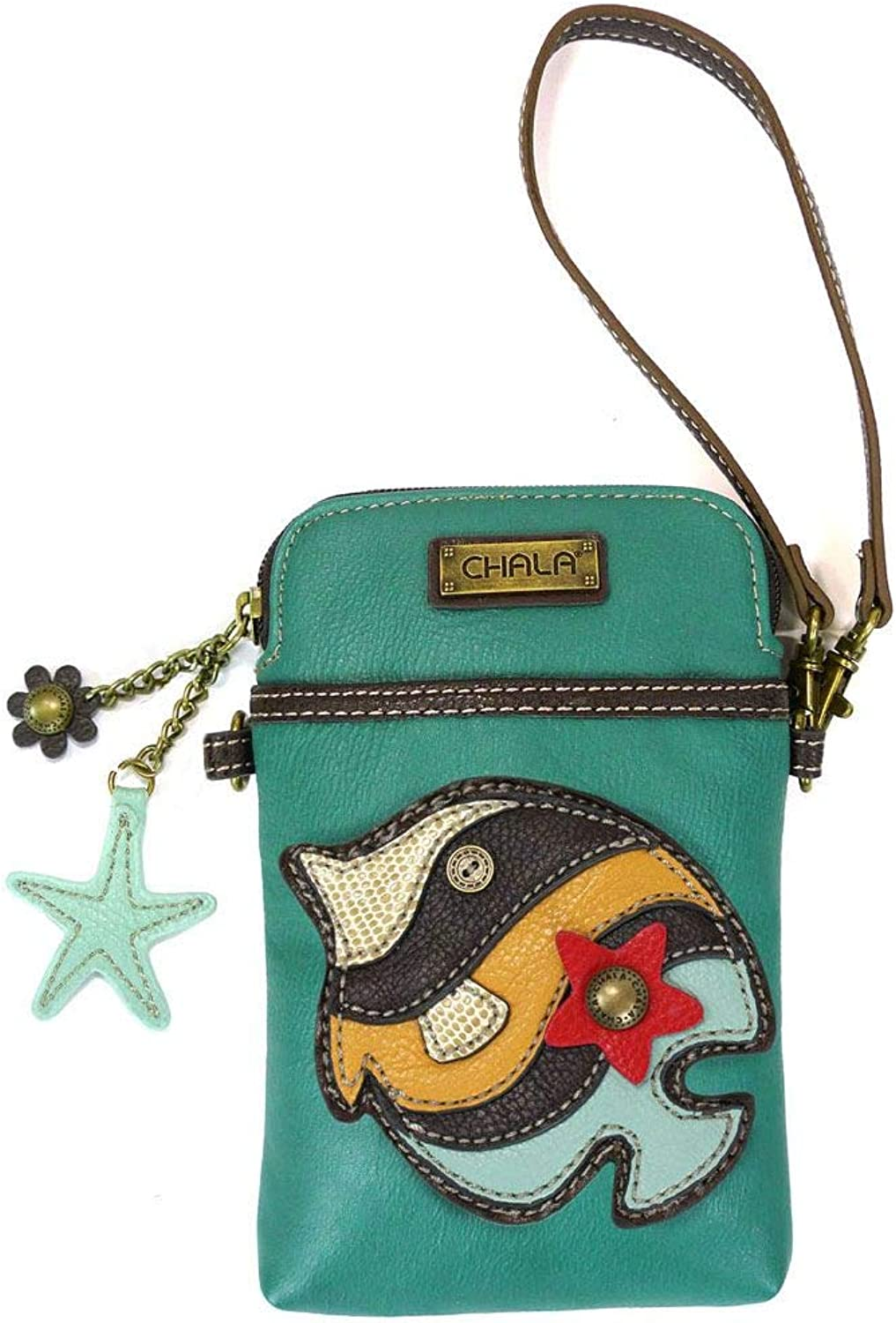 Chala Cell Phone XbodyTropical FishTurquoise