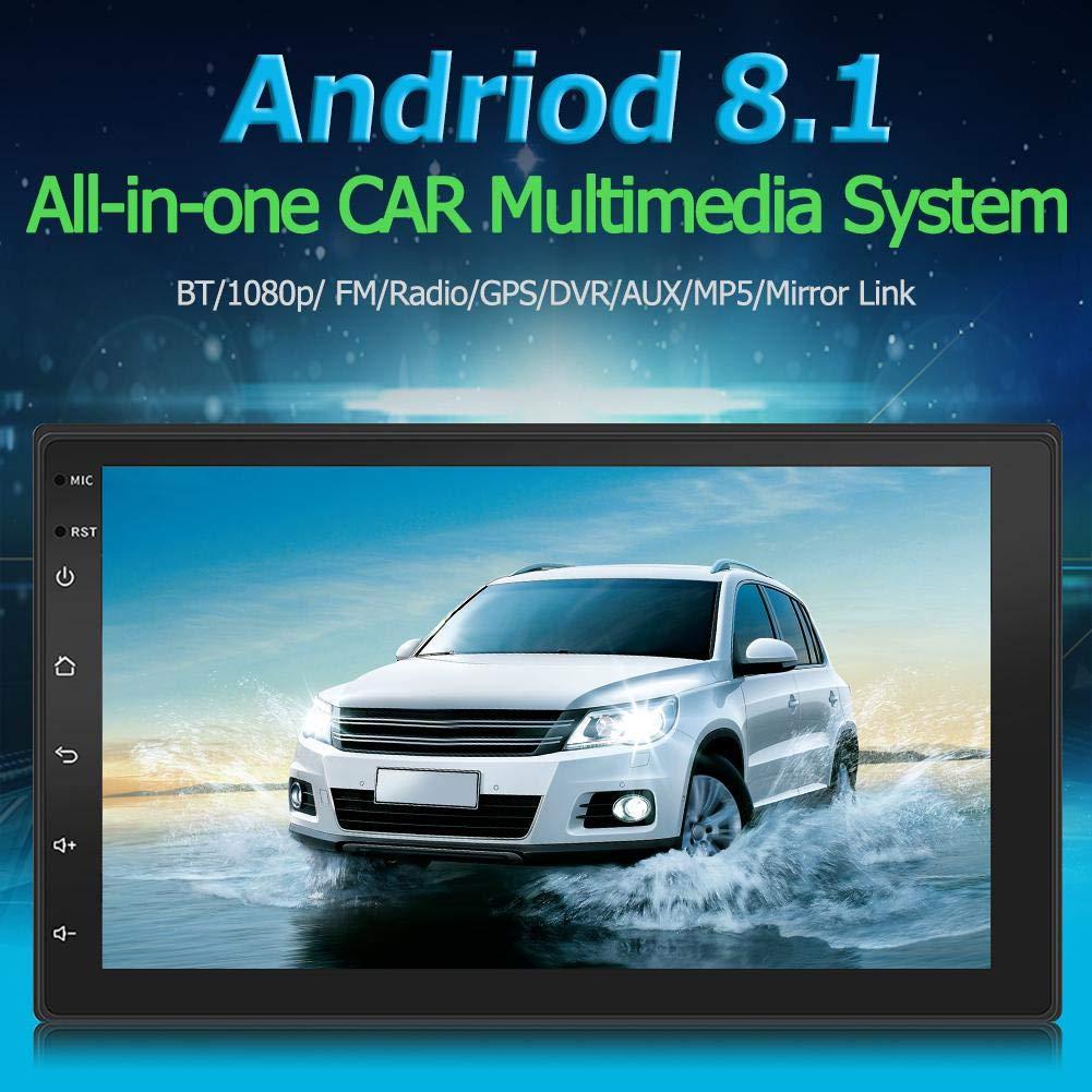 Hillrong 9219 7 Pulgadas Receptor Radio Android 8.1 de Coche GPS Navegación WiFi USB USB: Amazon.es: Electrónica