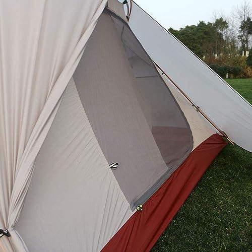 GYFY Double Double en Aluminium de Tente de Poteau de la lumière Ultra Enduit de Silicium imperméable à l'eau Quatre Saisons Camping Tente