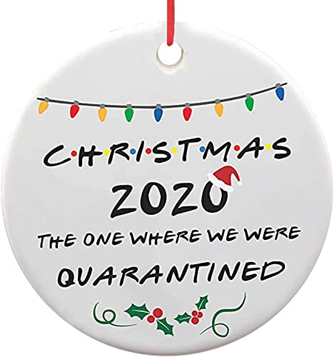 high quality 2020 Christmas Tree new arrival Ornaments, Disc Wood Ornament,Personalized Christmas Decoration Quarantine Ornament, Commemorative Ornament, new arrival Xmas Tree Hanging Decoration Holiday Décor Double-side Printed sale
