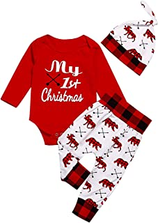 baby boy first christmas clothes