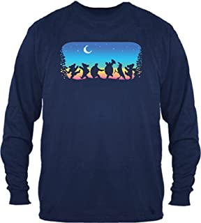 Grateful Dead Moondance Solid Long Sleeve Shirt by Dye The Sky