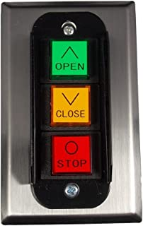 MMTC PBC-3 Nema 1 Three Button Interior Flush Mount Control Station Momentary