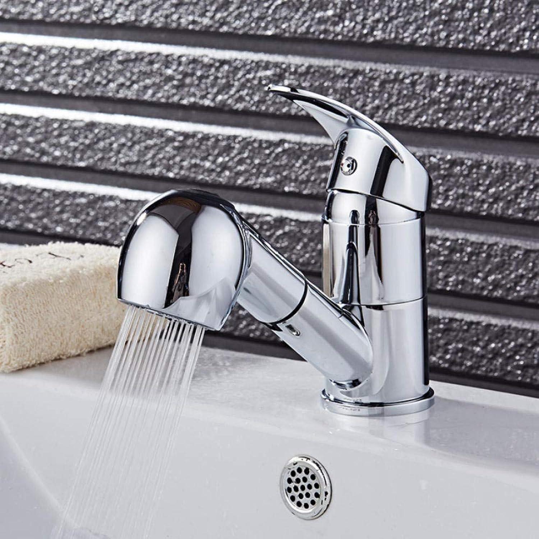 Küchenarmatur Chrom herausziehen Küchenarmatur Duschkopf Einhand-Wasserhahn