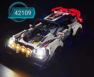 brickled LED Lighting Kit for Lego App-Controlled Top Gear Rally Car 42109 Technic (Lego Set not Included)