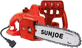 Sun Joe SWJ699E-RED 14-Inch 9.0 Amp Electric Chain Saw, Red