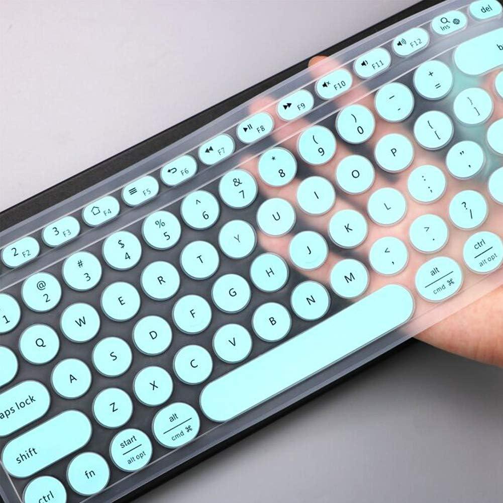Ultra Thin Silicone Keyboard Protector Skin,Transparent Lapogy Keyboard Cover Skin for Logitech MX Keys,Logitech MX Keys Accessories