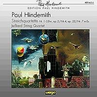 Hindemith: Streichquartette Nr. 1, 4 & 7