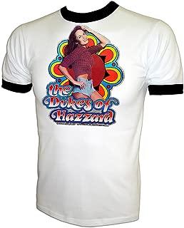 Vintage 80's Daisy Duke Catherine Bach The Dukes of Hazzard Ringer T-Shirt