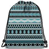 Dingjiakemao Sporttaschen Taschen Tribal Striped Geometric Swatches Von In Der Fi Sports Gym Bag...