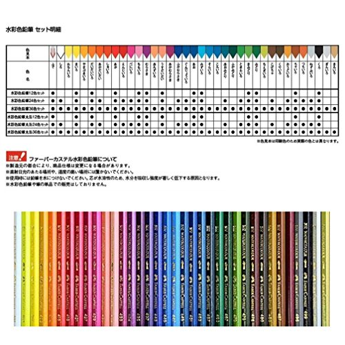 ファーバーカステル水彩色鉛筆丸缶24色セットTFC-115924