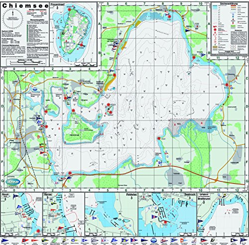 Chiemsee - Seglerkarte