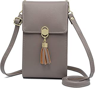 KOFNEKA Small Crossbody Bags Cell Phone Purse Wallet With Credit Card Slots For Women