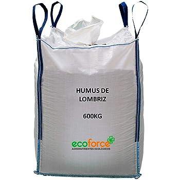 CULTIVERS Humus de Lombriz ecológico 5 kg (10 L). Abono para ...