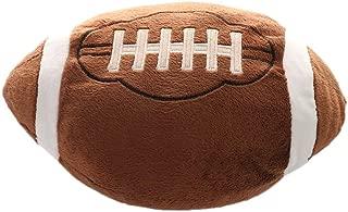 "Asdomo Football Plush Pillow Fluffy Stuffed Throw Pillows Soccer Sports Ball Soft Durable Sports Toy Gift for Kids Sofa Room Decoration 11.8""Lx11.8""W"