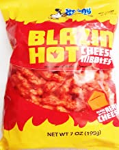Granny Goose Blazin' Hot Cheese Nibbles 7oz (Pack of 6)